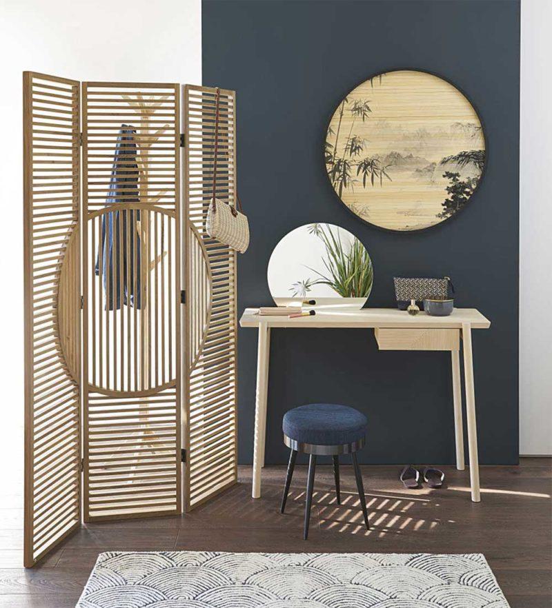 Paravent moderne en bois