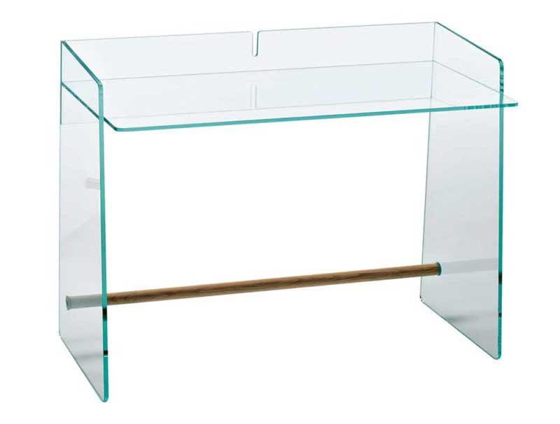 Bureau en verre au design original