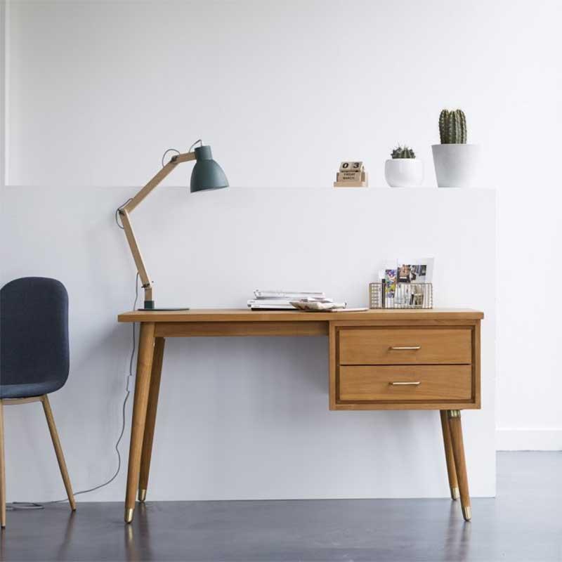 Bureau vintage style scandinave