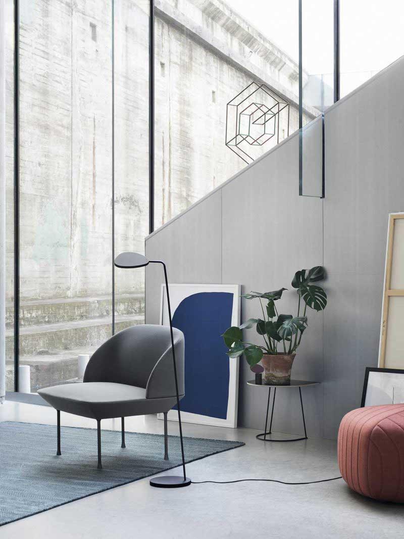 Fauteuil design scandinave moderne