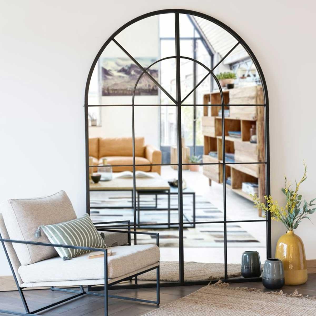 Miroir industriel : 20 modèles en métal style loft