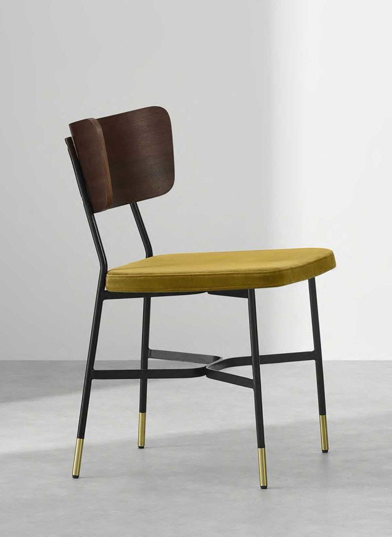 Chaise design néo-vintage