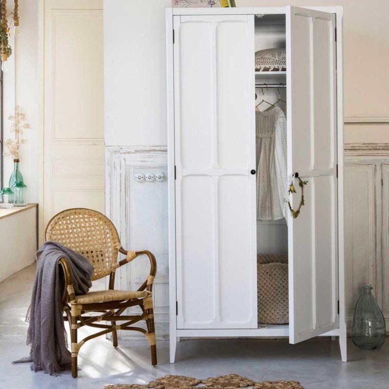 Armoire parisienne blanche par La Redoute