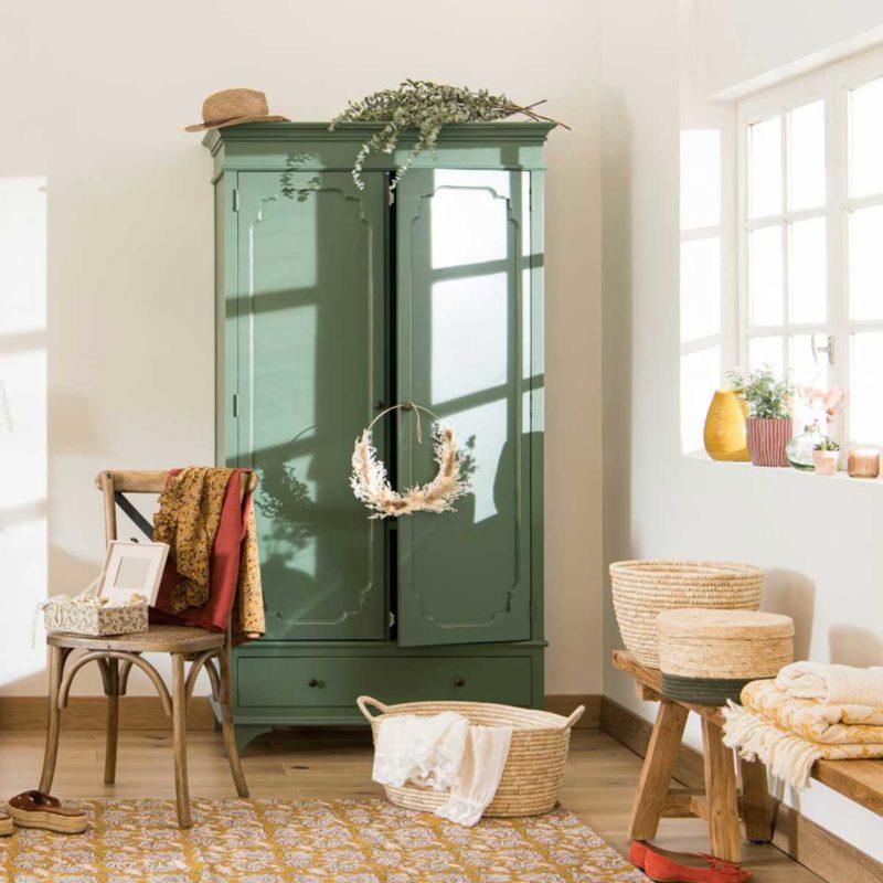 Armoire parisienne neuve style vintage avec tiroir