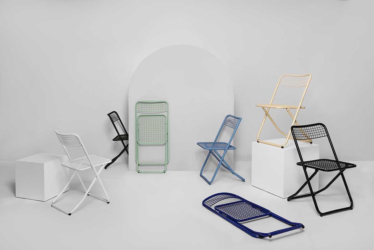 Chaise pliante d'intérieur : 21 designs pour une assise d'appoint