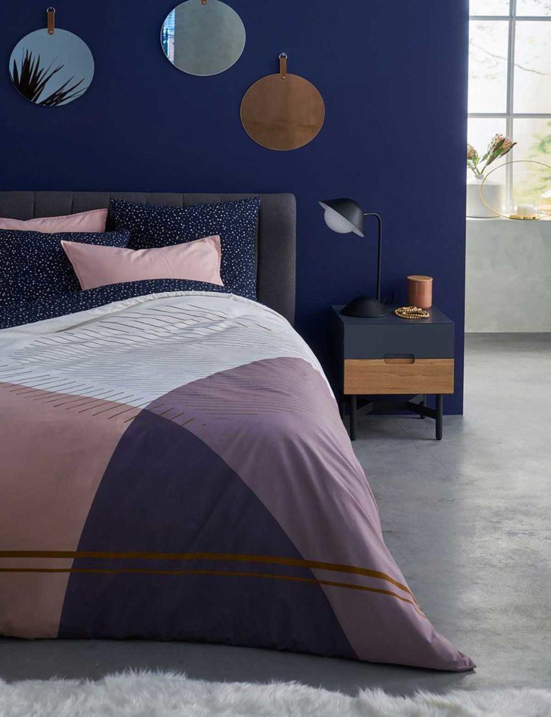 Chevet bicolore au design original