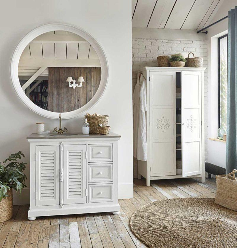 Design original pour cette armoire parisienne