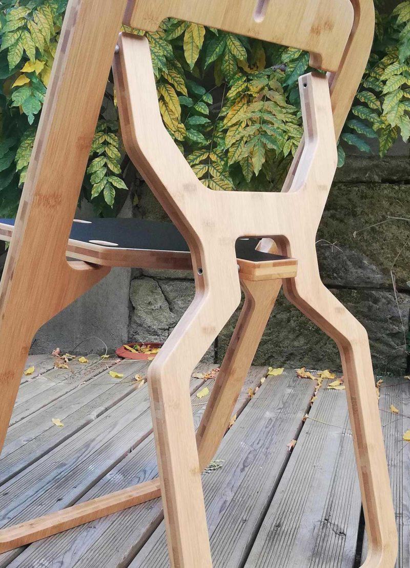 Fabriquer une chaise pliante en bois