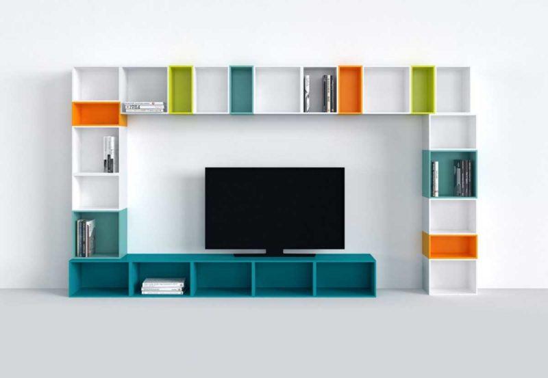 Meuble TV cube