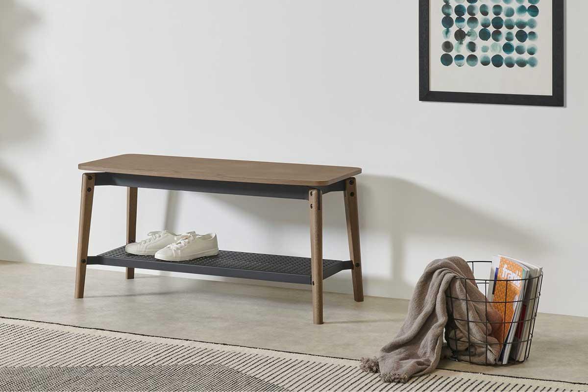 Banc d'entrée : 22 meubles astucieux