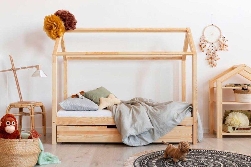 Lit Montessori avec tiroir