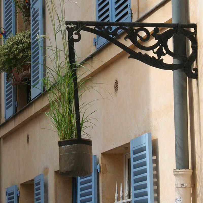 Pot de fleur suspendu pour extérieur par Bacsac