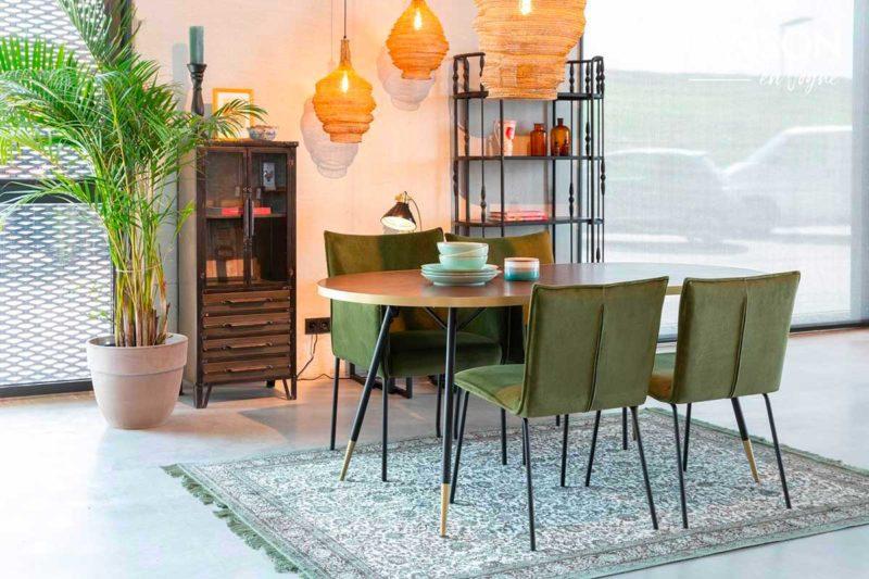 Table ovale style vintage