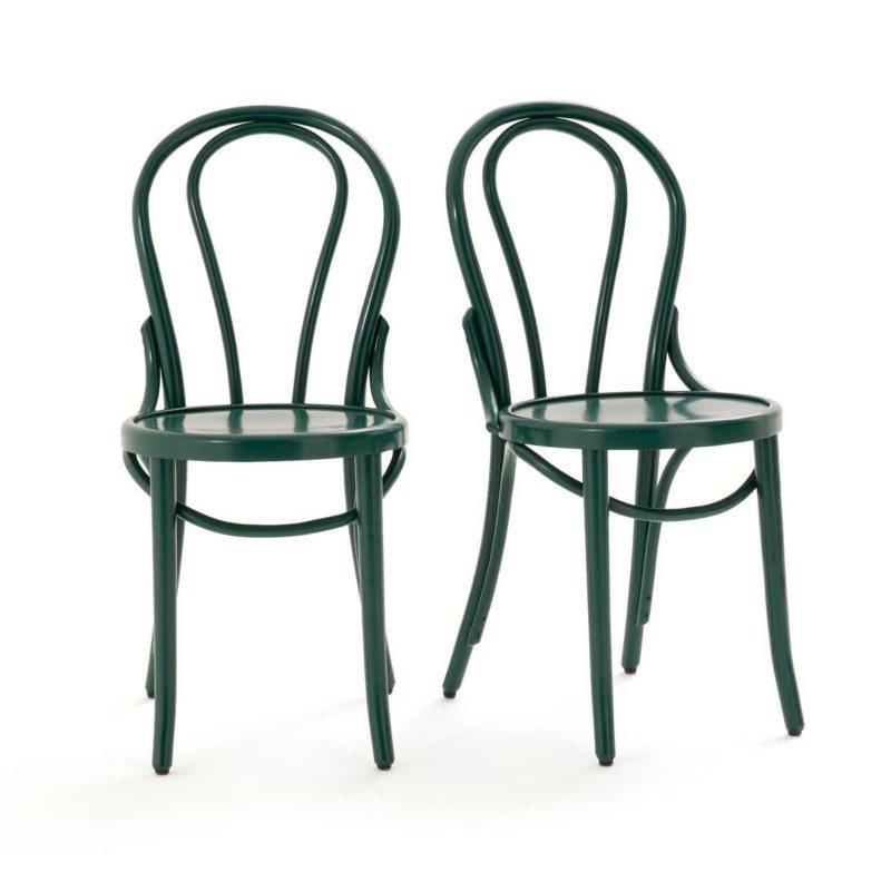 Chaise bistrot verte