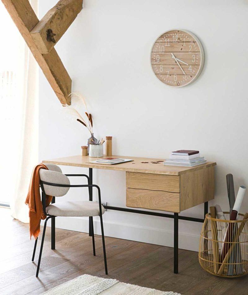 Chaise de bureau en tissu