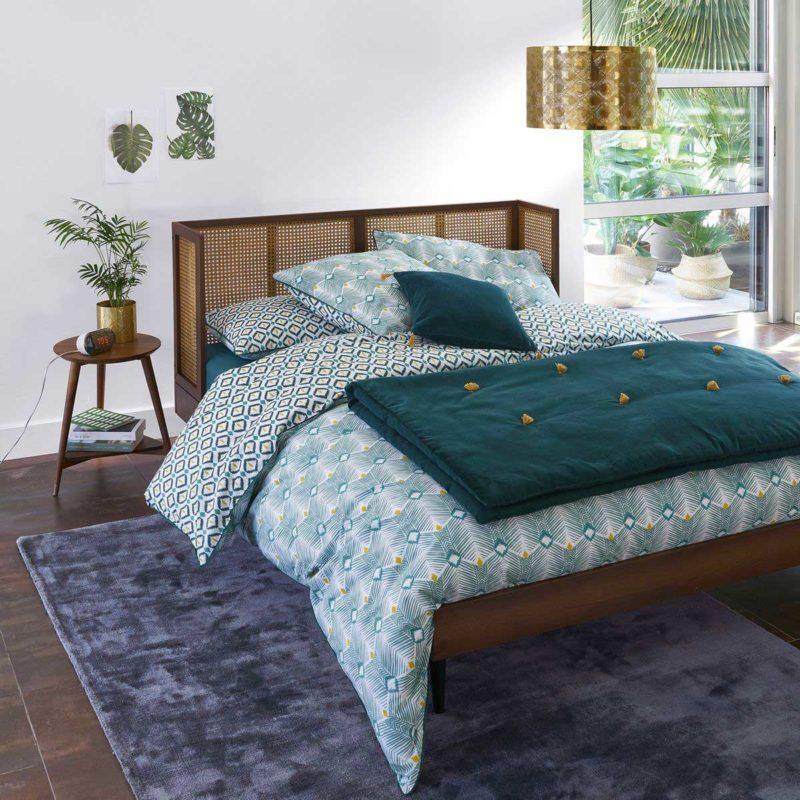 Idée de lit pour chambre adulte esprit vintage