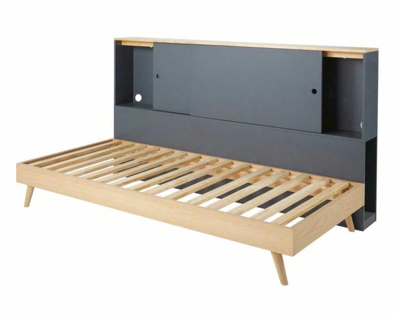 Meuble armoire lit