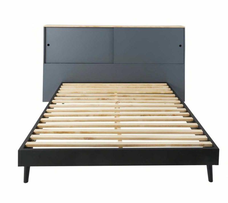 Meuble tête de lit avec rangements