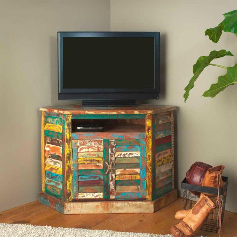 Meuble Tv d'angle au design original