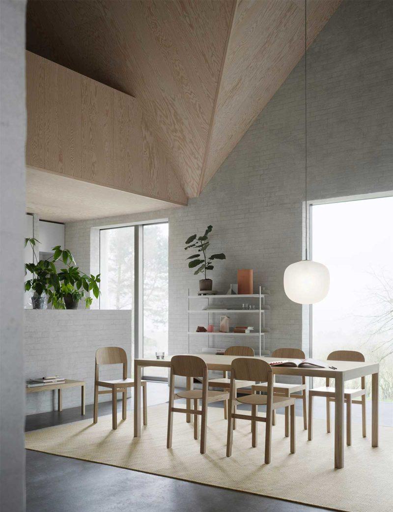 Table scandinave au design contemporain
