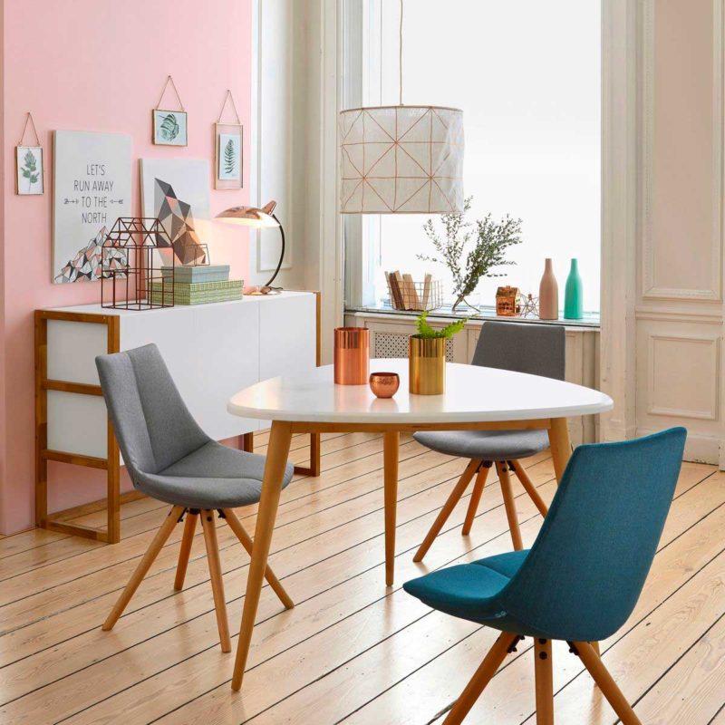 Table tripode pour déco esprit scandinave
