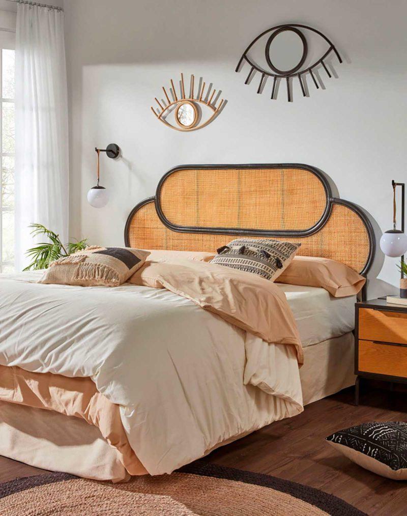 Tête de lit cannage pour sommier 160 cm