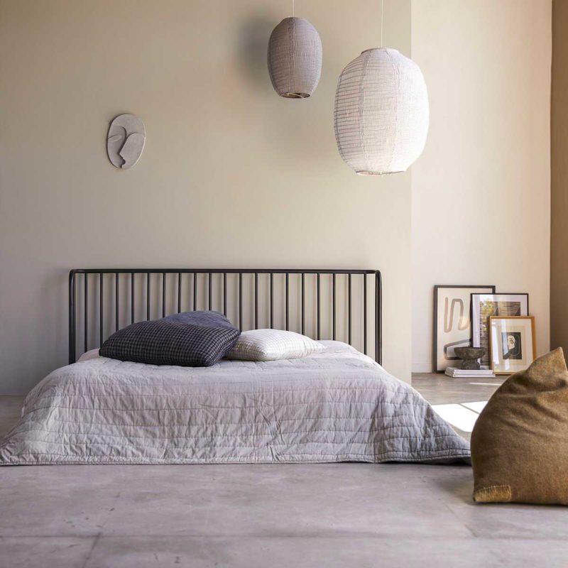 Tête de lit originale en métal