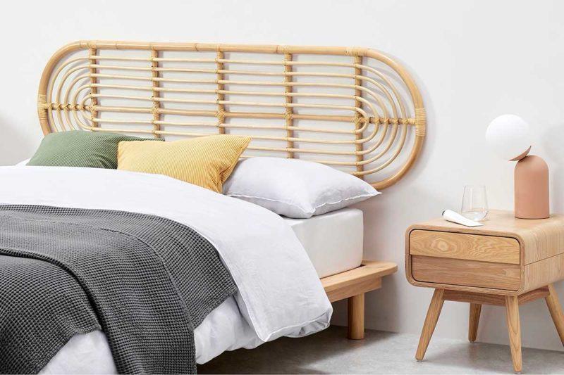 Tête de lit originale pour lit king size