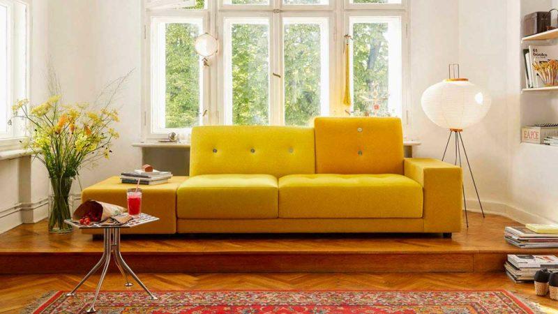 Canapé design par l'éditeur italien Vitra