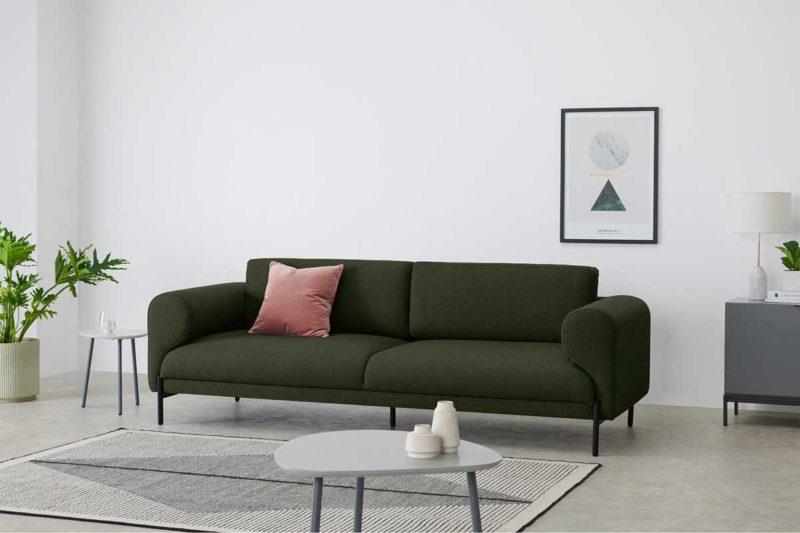 Canapé trois places design
