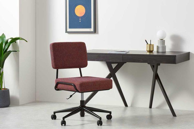 Chaise de bureau confortable au style moderne