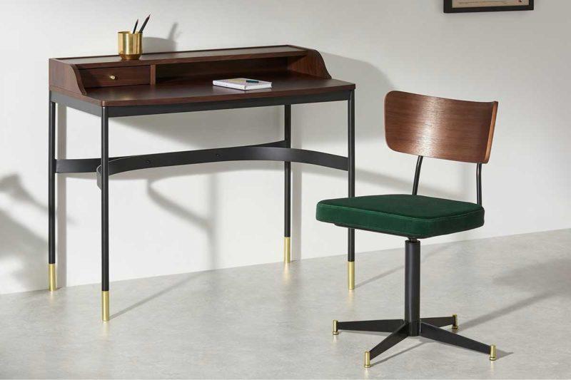 Chaise de bureau pour déco esprit vintage