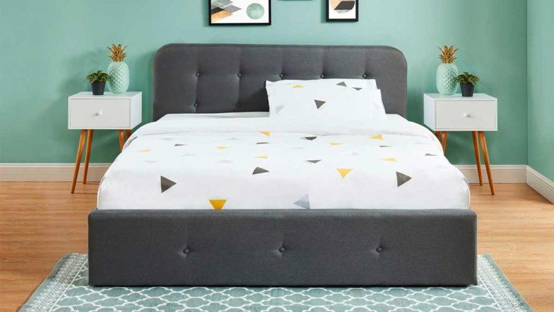 Chambre avec rangements sous le lit 180x200