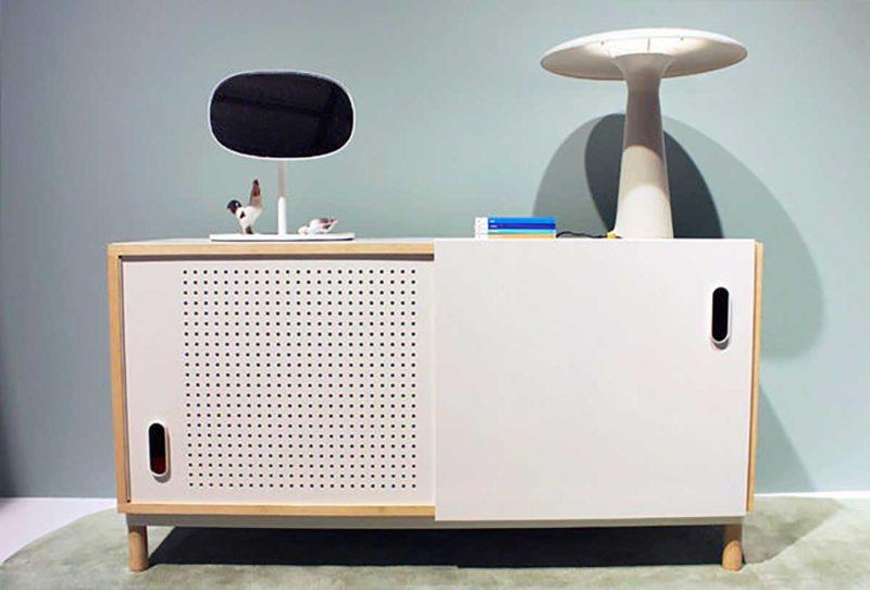 Petit buffet bas au design moderne