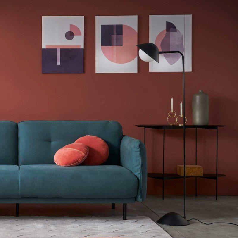Salon avec console au design original