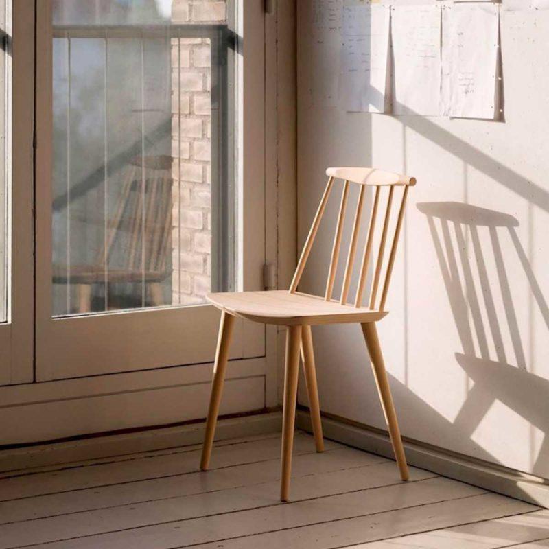 Chaise en bois pour déco scandinave